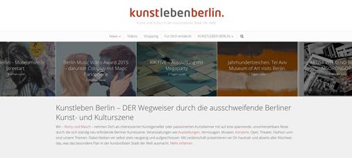 Blog Kunstlebenberlin